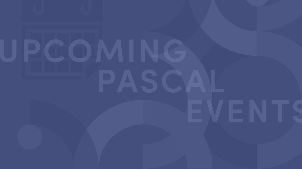 Pascal WealthTech Upcoming Events
